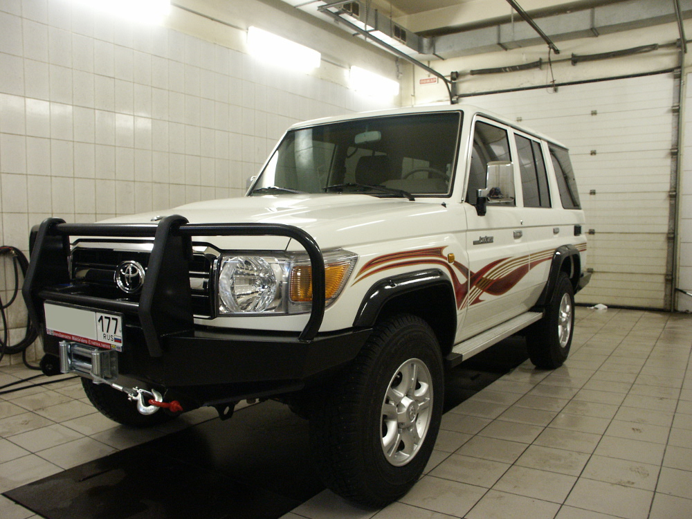 Тюнинг Toyota Land Cruiser 76/78